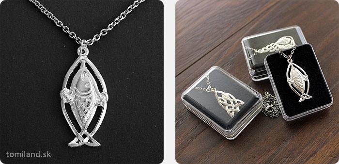 Fintanov losos je amulet pre čarovanie a magické rituály.