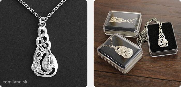 Amulet keltskej bohyne Cliodna pre dobré a zdravé sny počas spánku.