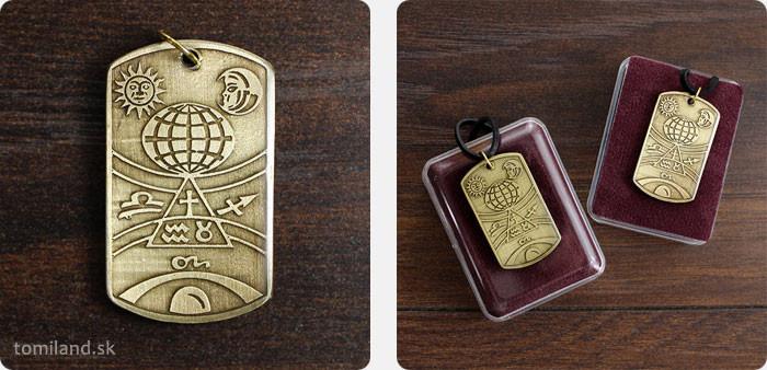 Astrologický amulet ochraňuje svojho majiteľa pri cestovaní.