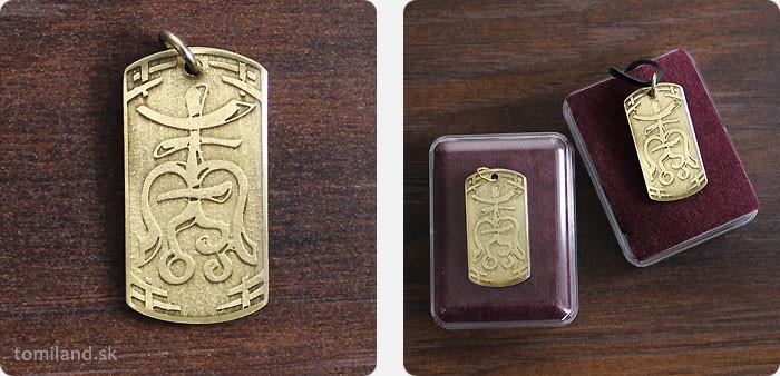 Tajný ázijský amulet pre dosiahnutie dlhovekosti.