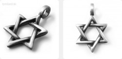 Amulet hexagram 3D