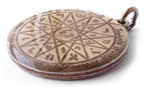 Magický amulet kráľa Šalamúna.
