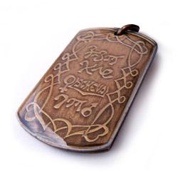 Magický amulet lásky.
