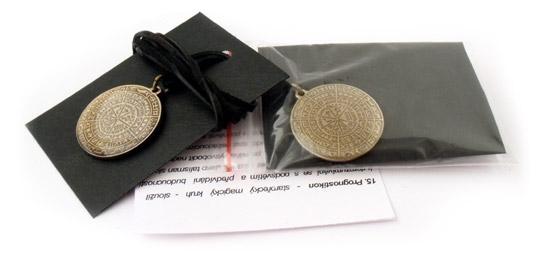 Amulety vhodné pre vyvolávanie duchov.