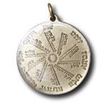 Starohebrejský amulet.