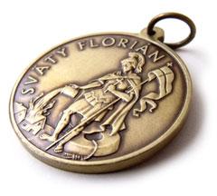 Sv. Florián prívesok.