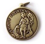 Svätý Florián medailón.